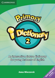 PRIMARY I-DICTIONARY 2 CD-ROM (MULTI CLS